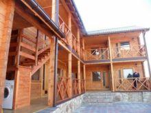 Продается  мини-гостиница из клеёного бруса в пгт. Черноморское.