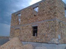 Продается двухэтажный дом 60% готовности в пгт. Черноморское
