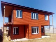 Продается дом из СИП 70% готовности в п. Черноморское